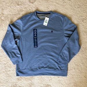 Pale blue Men's Izod sweatshirt